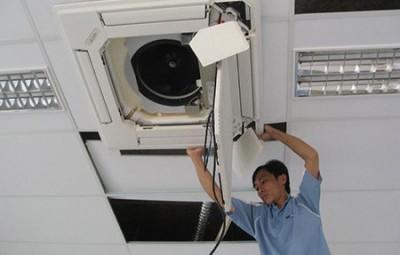 Lắp điều hòa âm trần nối ống gió tại Hải Dương