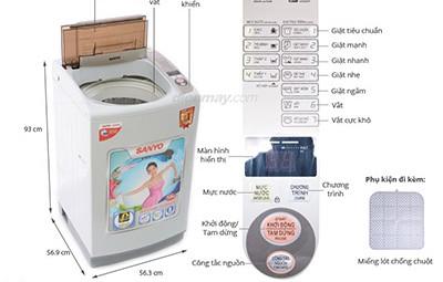 Sửa máy giặt giá rẻ tại Hải Dương