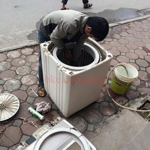 Vệ sinh máy giặt tại Hải Dương