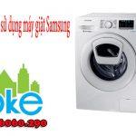 Cách Sử Dụng Máy Giặt SamSung hiệu quả không nên bỏ qua