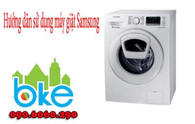 cách sử dụng máy giặt samsung