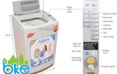 Cách sử dụng máy giặt aqua 8kg tiết kiệm điện