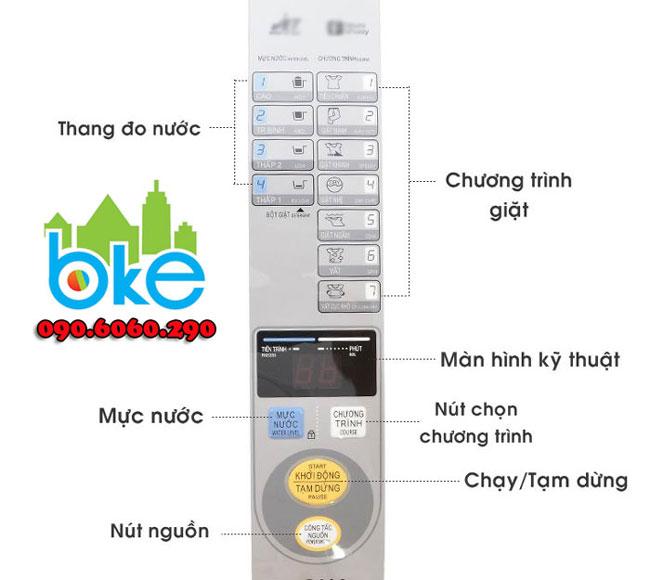 Cách sử dụng máy giặt aqua 8kg