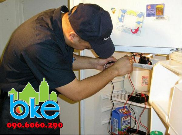 Sửa chữa tủ lạnh Electrolux tại Hải Dương