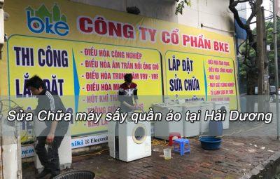 Sửa Máy Sấy LG Tại Hải Dương - Bke.company trung tâm điện lạnh