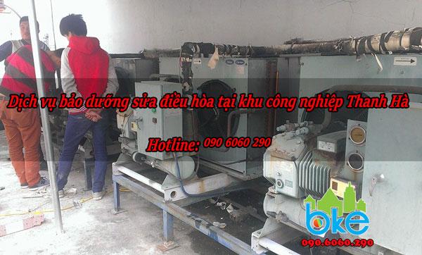 Dịch vụ bảo dưỡng sửa điều hòa tại khu công nghiệp Thanh Hà