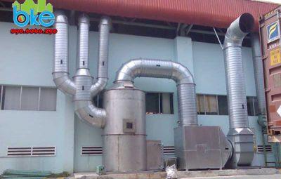 Công ty cung cấp hệ thống hút khí thải tại Hải Dương