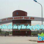 Bảo dưỡng sửa điều hòa tại khu công nghiệp Đại An