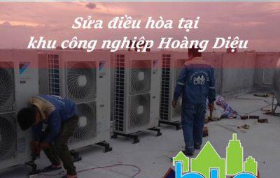 Sửa điều hòa tại khu công nghiệp Hoàng Diệu
