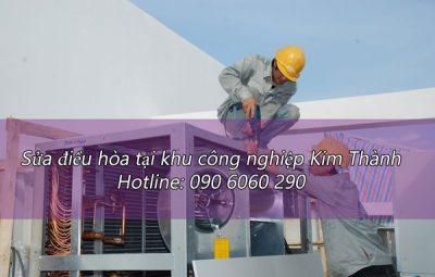 Sửa điều hòa tại khu công nghiệp Kim Thành