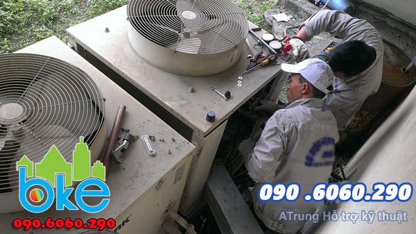 Bảo dưỡng sửa điều hòa tại khu công nghiệp Tàu Thủy Lai Vu